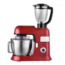 KITCHENCOOK - EXPERT_XL_RED - Robot Pétrin avec Blender - 6,5L - Rouge