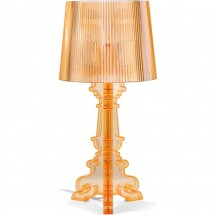 Lampe de table orange inspirée Ferrucio Laviani H 51 cm