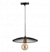 Lampe suspension métal noir Narsh 35 cm - Lot de 3