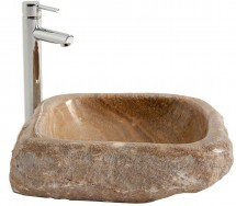 Lavabo vintage onyx sable Anjaly