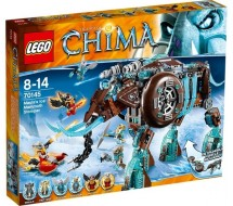 Lego 70145 Legends of Chima Playthemes Le Mammouth des Glaces