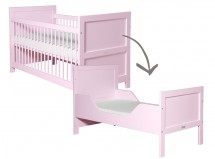 Lit bébé évolutif rose Mix & Match 70