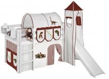Lit enfant grand choix de lits pour enfant - Tour de lit beige et marron ...