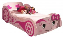 Lit voiture rose Pretty Car Beds