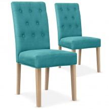 Chaise de salle à manger bleu | LesTendances.fr