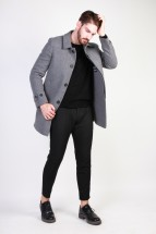 Made in Italia Manteau homme adolfo gris