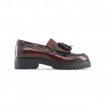 Made in Italia Mocassin femme lorella bordeaux