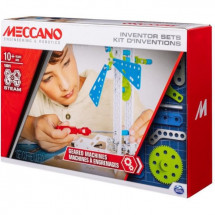MECCANO Kit d'inventions – Set 3 Engrenages