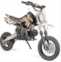 Moto cross 110cc 12/10 e-start automatique 4 temps orange
