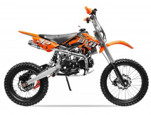 Moto cross 125cc NXD automatique 17/14 orange