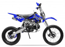 Moto cross 125cc Manuel 4 temps 17/14 Sprint bleu