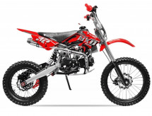 Moto cross 125cc NXD Manuel 4 temps 17/14 rouge