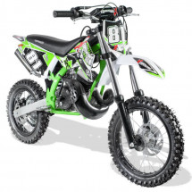 Moto cross automatique 50cc Sporty 14/12 3,5cv vert
