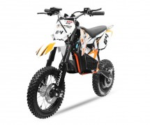 Moto cross électrique 800W 48V 12/10 NRG turbo orange