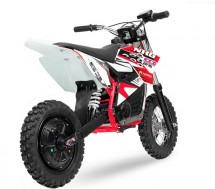Moto cross électrique 800W 48V 12/10 NRG turbo rouge