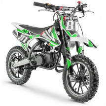 Moto cross pocket 50cc 2 Temps 10/10 vert