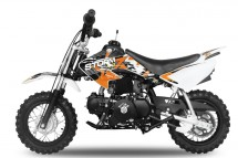 Moto enfant 90cc Storm 4 temps 10/10 e-start orange