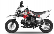 Moto enfant 90cc Storm 4 temps 10/10 e-start rouge