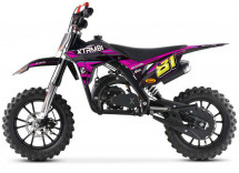MX Storm 50cc rose moto cross enfant
