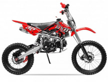 NXD prime M7 125cc rouge 17/14 pouces manuel Dirt bike
