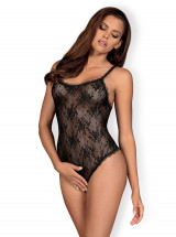 Obsessive Body Behindy Body ouvert - Noir