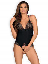 Obsessive Body Chiccanta Body ouvert - Noir