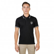 Oxford University Polo homme magdalen polo mm noir