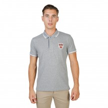 Oxford University Polo homme queens polo mm gris