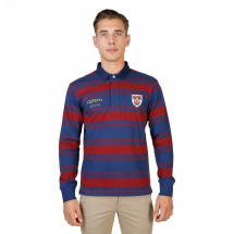 Oxford University Polo homme queens rugby ml rouge