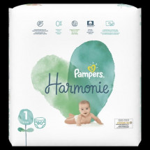 Pampers Harmonie Taille 1, 80 Couches