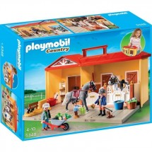 Playmobil 5348 Ecurie Transportable