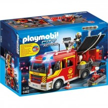 Playmobil 5363 Fourgon Pompier Gyrophare