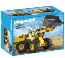 Playmobil 5469 Chargeuse avec Godet