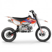 Racing 125cc bleu 17/14 pouces manuel Dirt bike Kayo