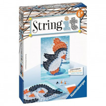 RAVENSBURGER - String It mini: Pingouin