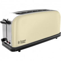 RUSSELL HOBBS 21395-56 - Grille-pain - 1 longue fente - 1000 W - Creme intemporel