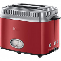 RUSSELL HOBBS 21680-56 - Toaster Retro - 2 fentes - 1300 W - Rouge