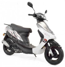 Scooter 50cc 4 temps Noir
