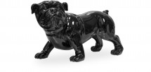 Sculpture Bulldog Noir