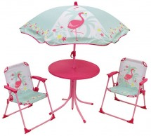 Set de jardin Flamingo