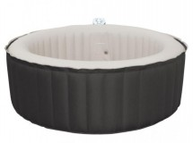 Spa rond gonflable noir 4 places Waterclip