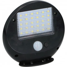 Spot mural LED solaire - Lot de 2 - 30 LED SMD