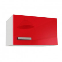 START Meuble sur hotte L 60 cm - Rouge Brillant