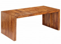 Table à manger rectangulaire bois d'acacia massif Roba 180 cm