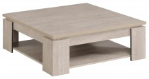 Table basse carrée grise loft Harvey
