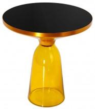 Table basse jaune   LesTendances.fr