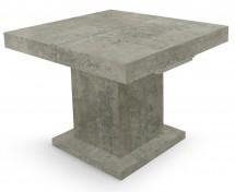 Table carrée extensible effet marbre Klassi 110 - 250 cm 266c3e1ea0b0