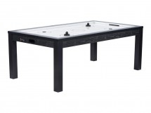 Table de Air Hockey noir avec plateau