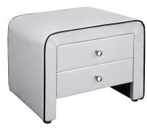 table de chevet gris. Black Bedroom Furniture Sets. Home Design Ideas
