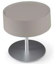 table de chevet taupe. Black Bedroom Furniture Sets. Home Design Ideas